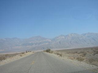 Death Valley ahead