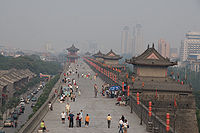 200px-Xi'an_-_City_wall_-_014