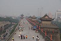 200px-Xi'an_-_City_wall_-_014